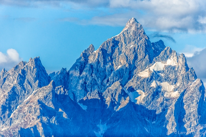 'Bare Granite Peaks and Glaciers' © Larry A Lyons