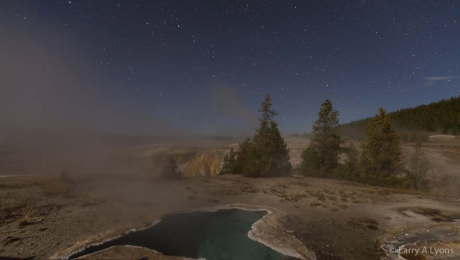 'Big Dipper and Yellowstone' © Larry A Lyons