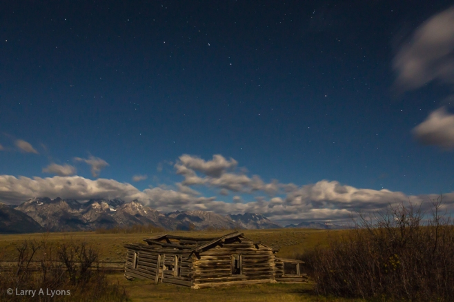 'Big Dipper Over Shane Cabin' © Larry A Lyons