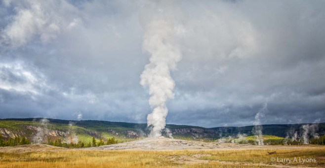Geysers and Steam Vents Galore' © Larry A Lyons
