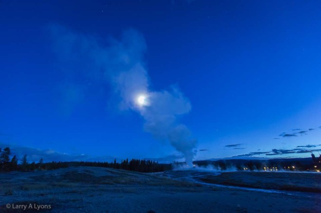 'Goodnight Yellowstone' © Larry A Lyons