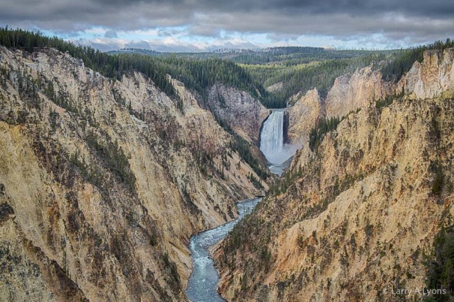 'Grand Canyon of Yellowstone' © Larry A Lyons