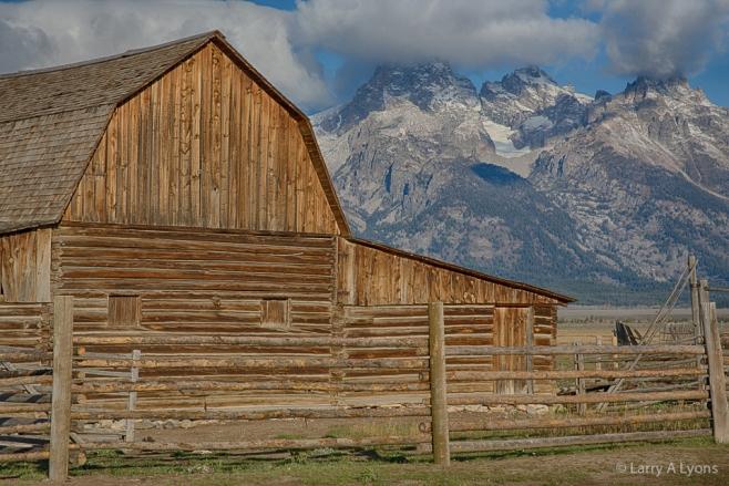 'John Moulton Barn' © Larry A Lyons