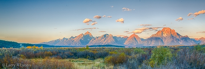 'Teton Mountain Range' © Larry A Lyons