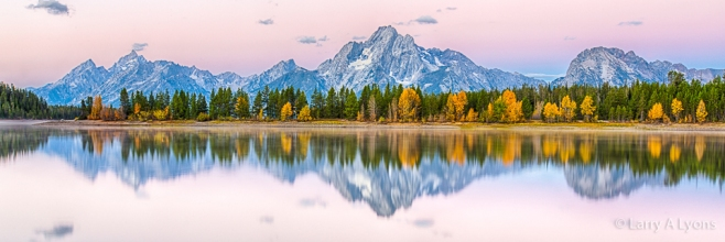 'The Tetons' © Larry A Lyons