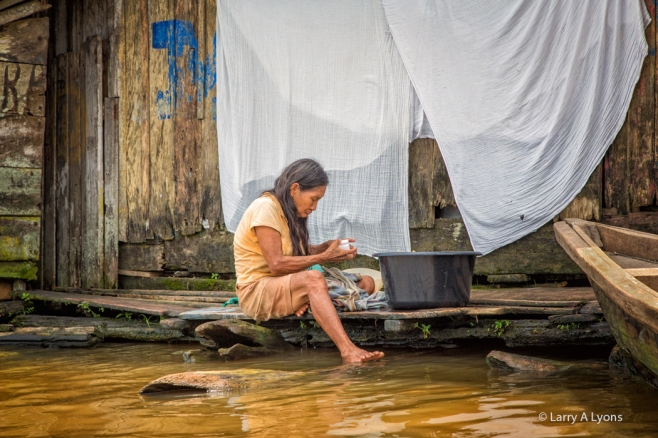 Doing Laundry In The Amazon