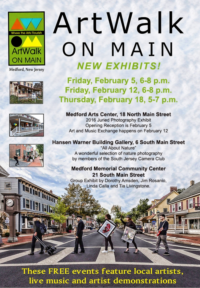February ArtWalk on Main